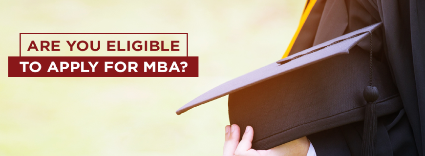 What is the criteria for admission to MBA