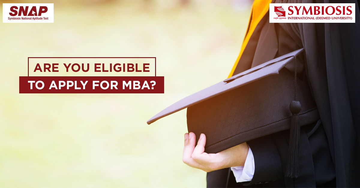 What is the criteria for admission to MBA?