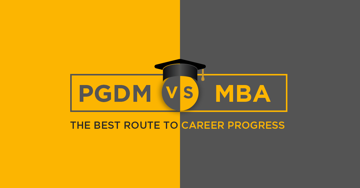 Career progress_ PGDM vs MBA
