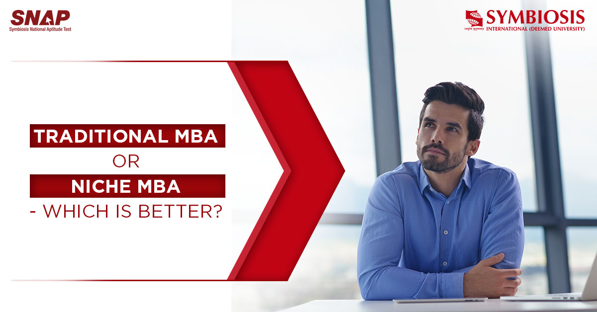 Niche MBA Programmes - The Solution To A Lucrative Tomorrow