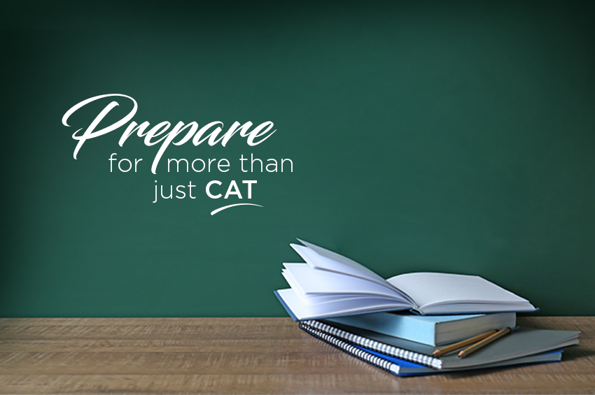 Don't Risk It - Prepare For More Than Just CAT