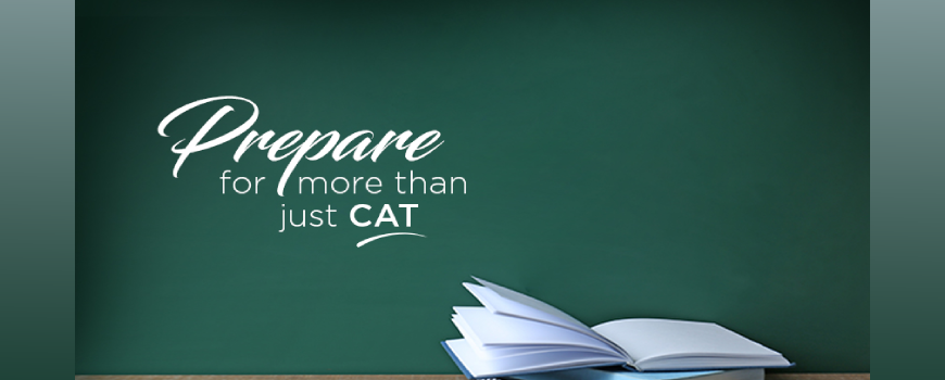 Don't Risk It – Prepare For More Than Just CAT