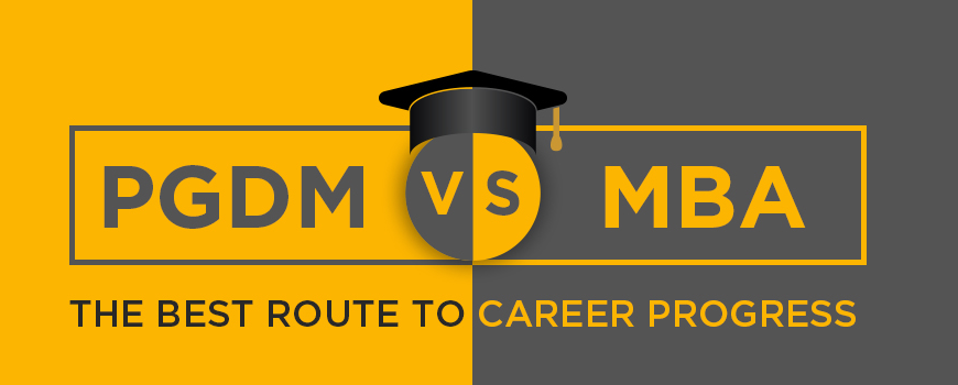 Career progress: PGDM vs MBA
