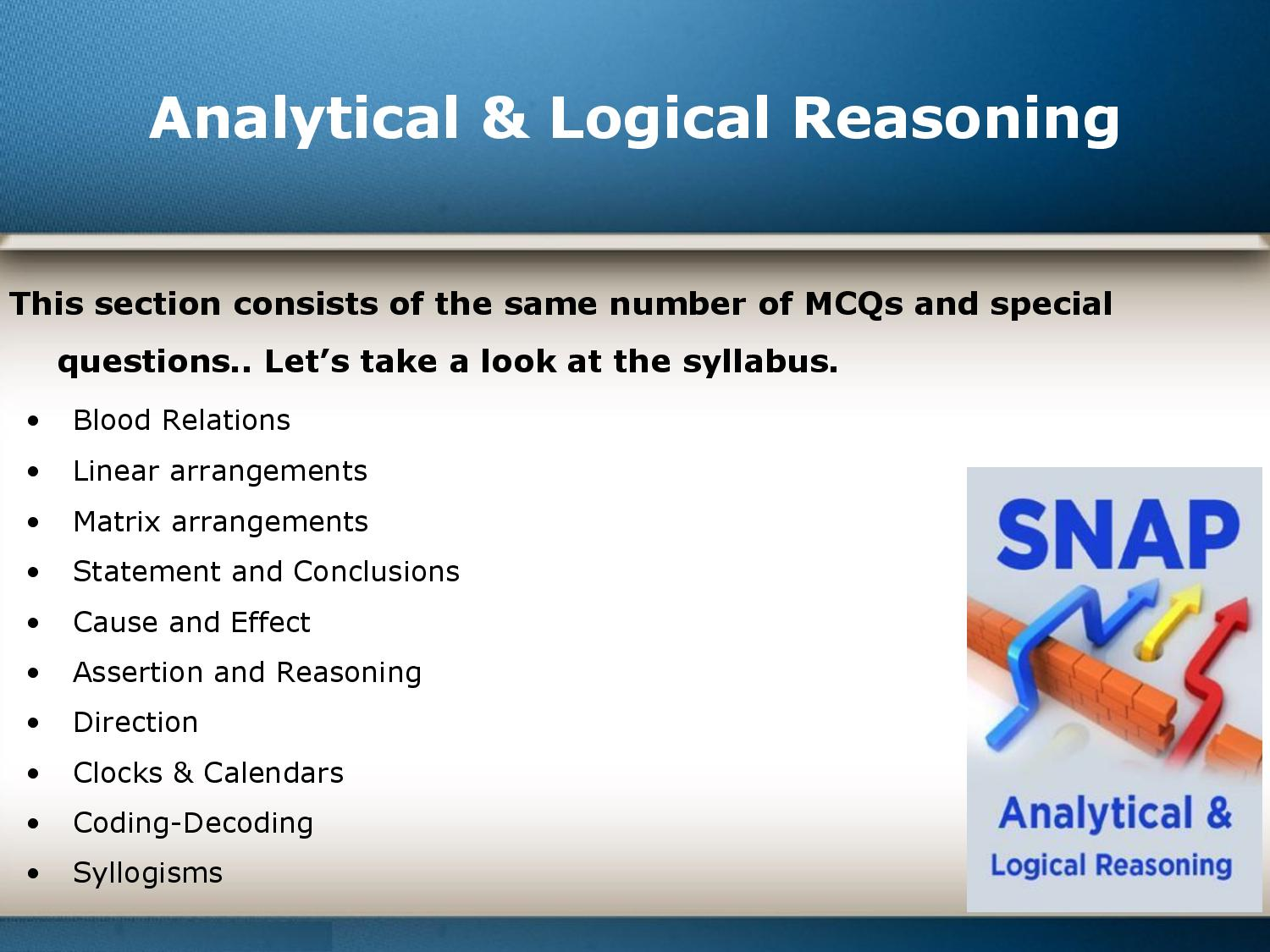A complete overview of the SNAP exam-page-010