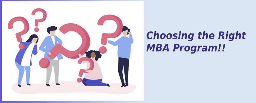 How to choose the right MBA program for your career